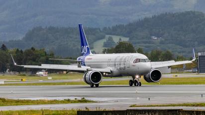SE-RUA - SAS - Scandinavian Airlines Airbus A320 NEO