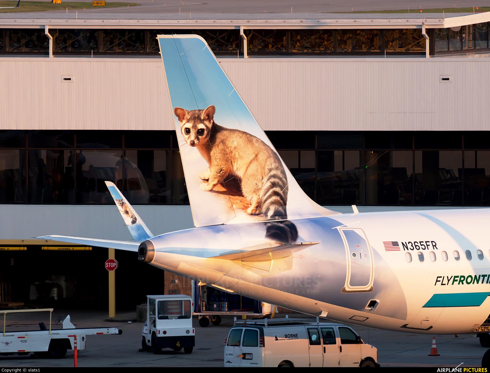 Frontier Airlines N365FR aircraft at Cincinnati - Northern Kentucky Intl
