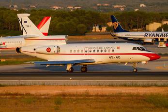 T.18-1 - Spain - Air Force Dassault Falcon 900 series