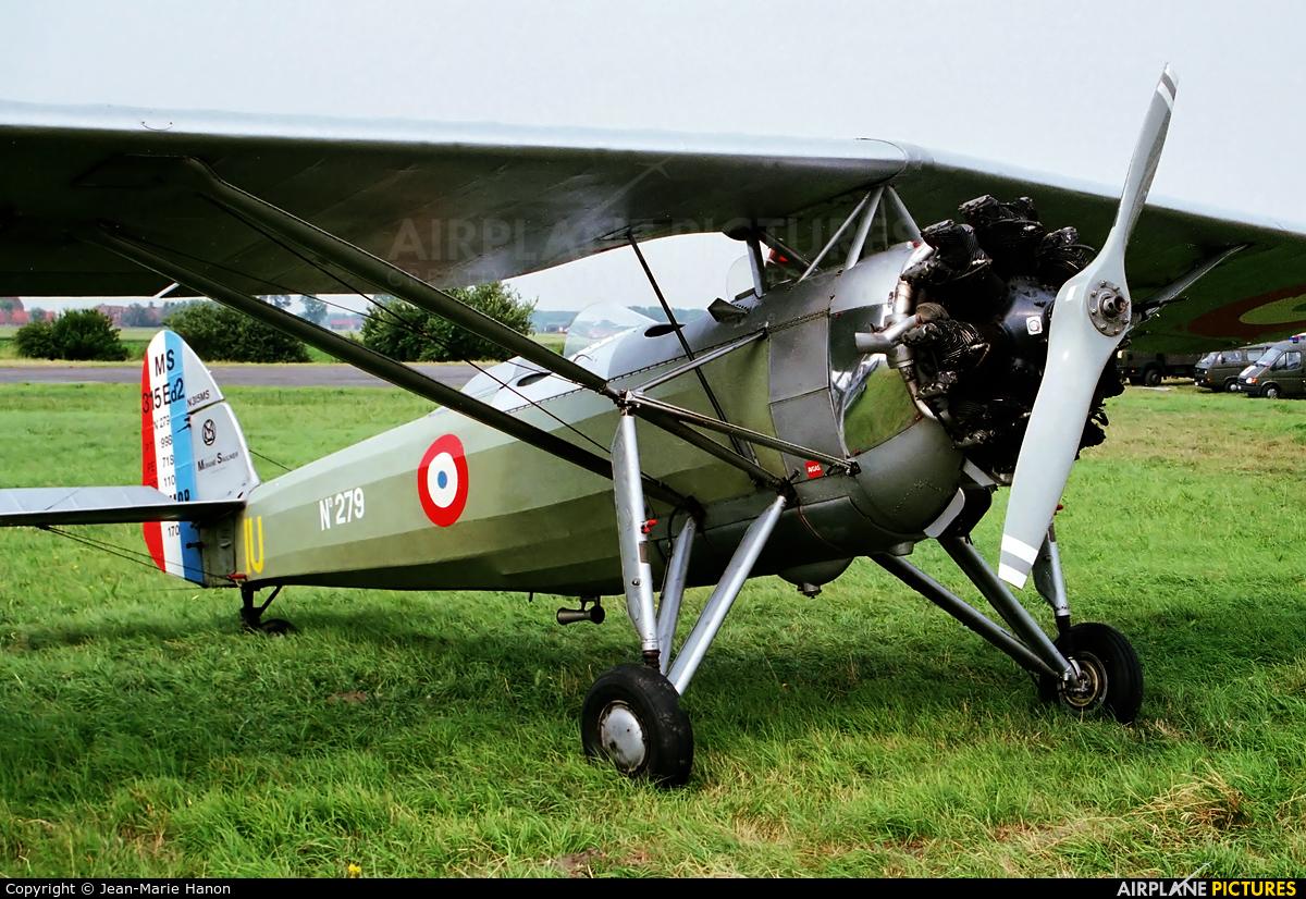 Private N317MS aircraft at Koksijde