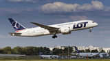 LOT - Polish Airlines Boeing 787-8 Dreamliner SP-LRD at Warsaw - Frederic Chopin airport
