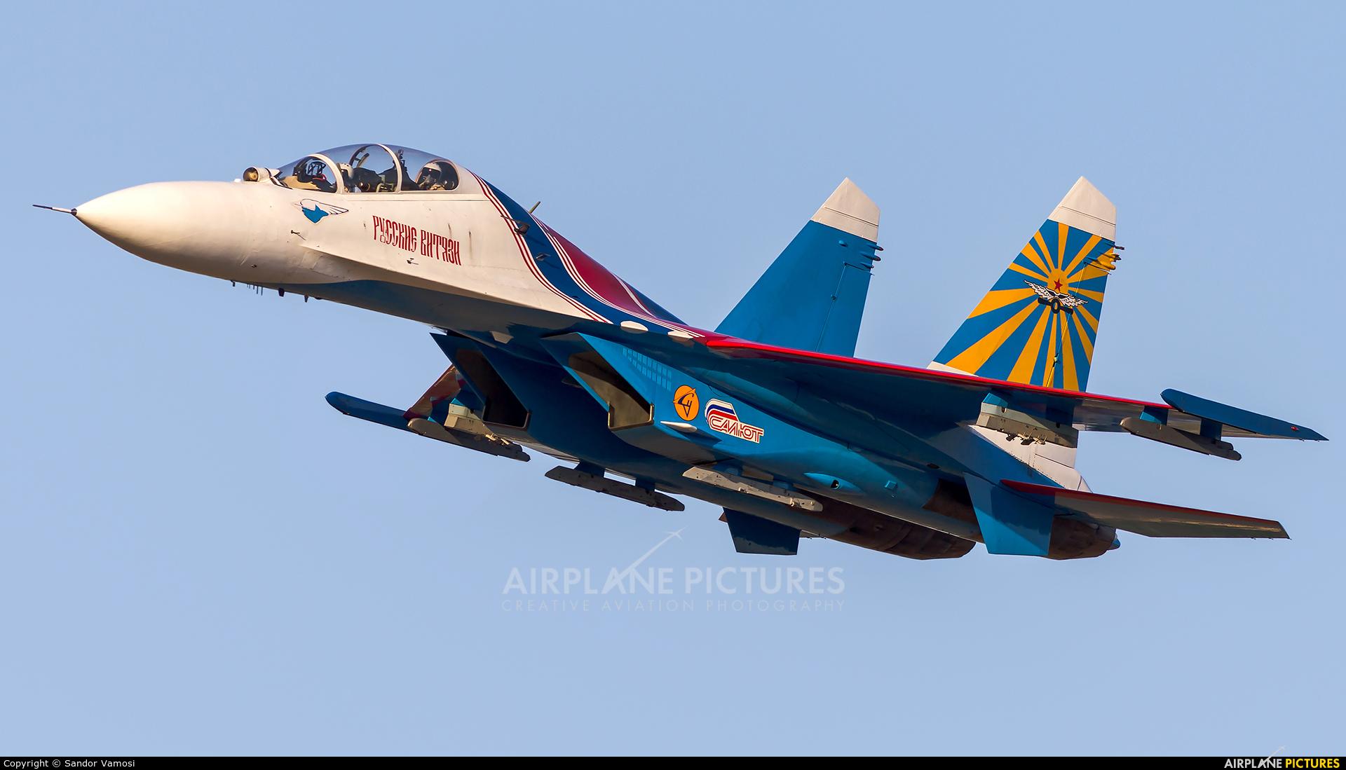 """Russia - Air Force """"Russian Knights"""" 20 aircraft at Kecskemét"""