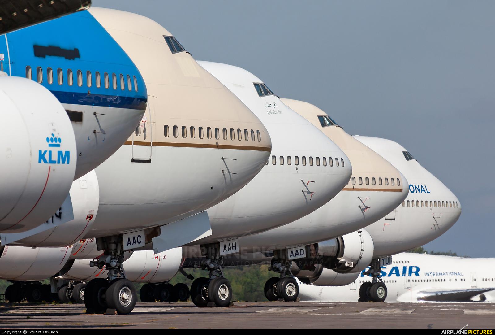 Saudi Arabian Airlines TF-AAC aircraft at Kemble
