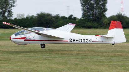 SP-3034 - Aeroklub Wroclawski PZL SZD-9 Bocian