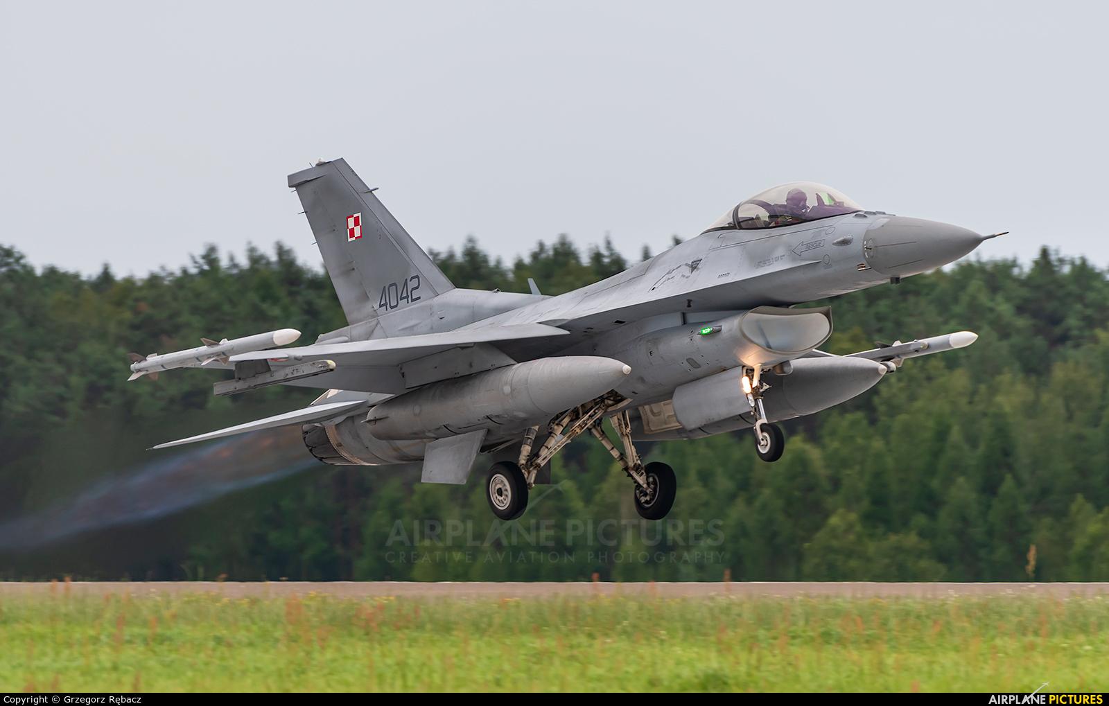 Poland - Air Force 4042 aircraft at Łask AB