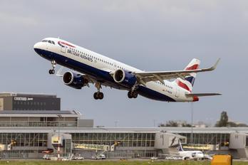 G-NEOW - British Airways Airbus A321 NEO