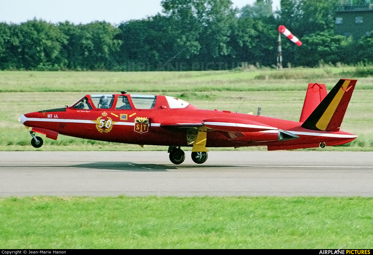 "Belgium - Air Force ""Les Diables Rouges"" MT-44 aircraft at St Truiden/Bruste"