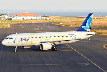 CS-TKP - Azores Airlines Airbus A320