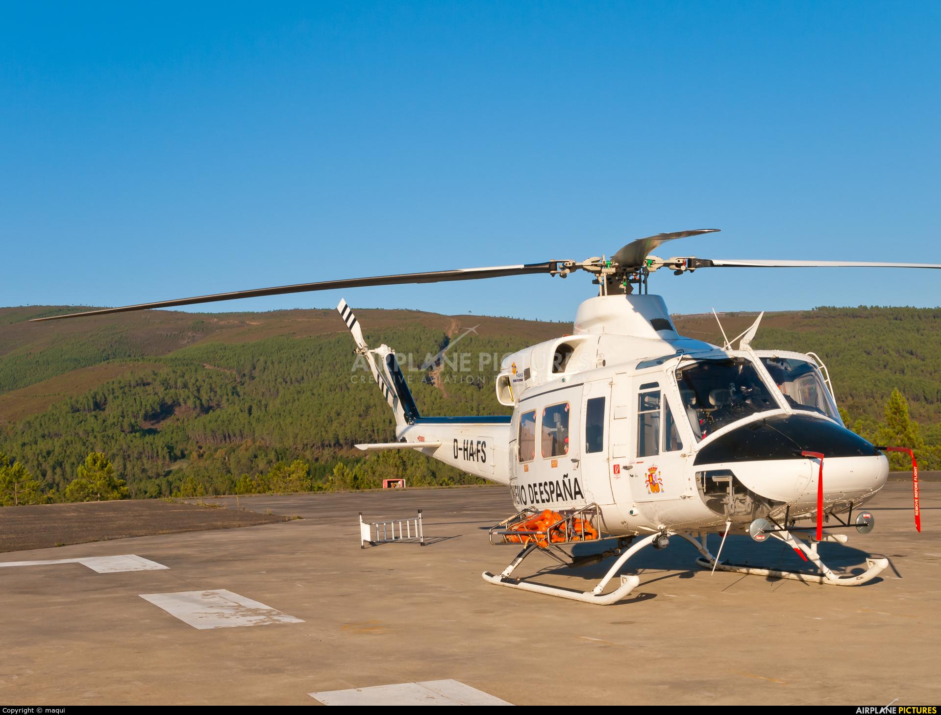 FAASA Aviación D-HAFS aircraft at Ourense - Base de Laza