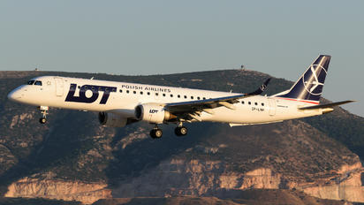 SP-LNH - LOT - Polish Airlines Embraer ERJ-195 (190-200)