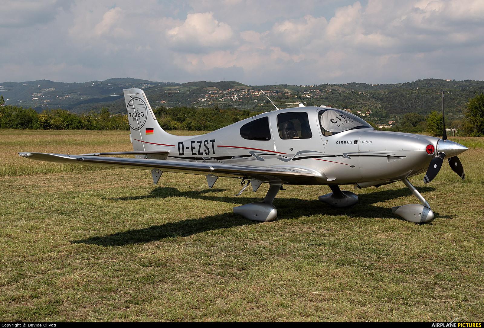 Private D-EZST aircraft at Verona - Boscomantico