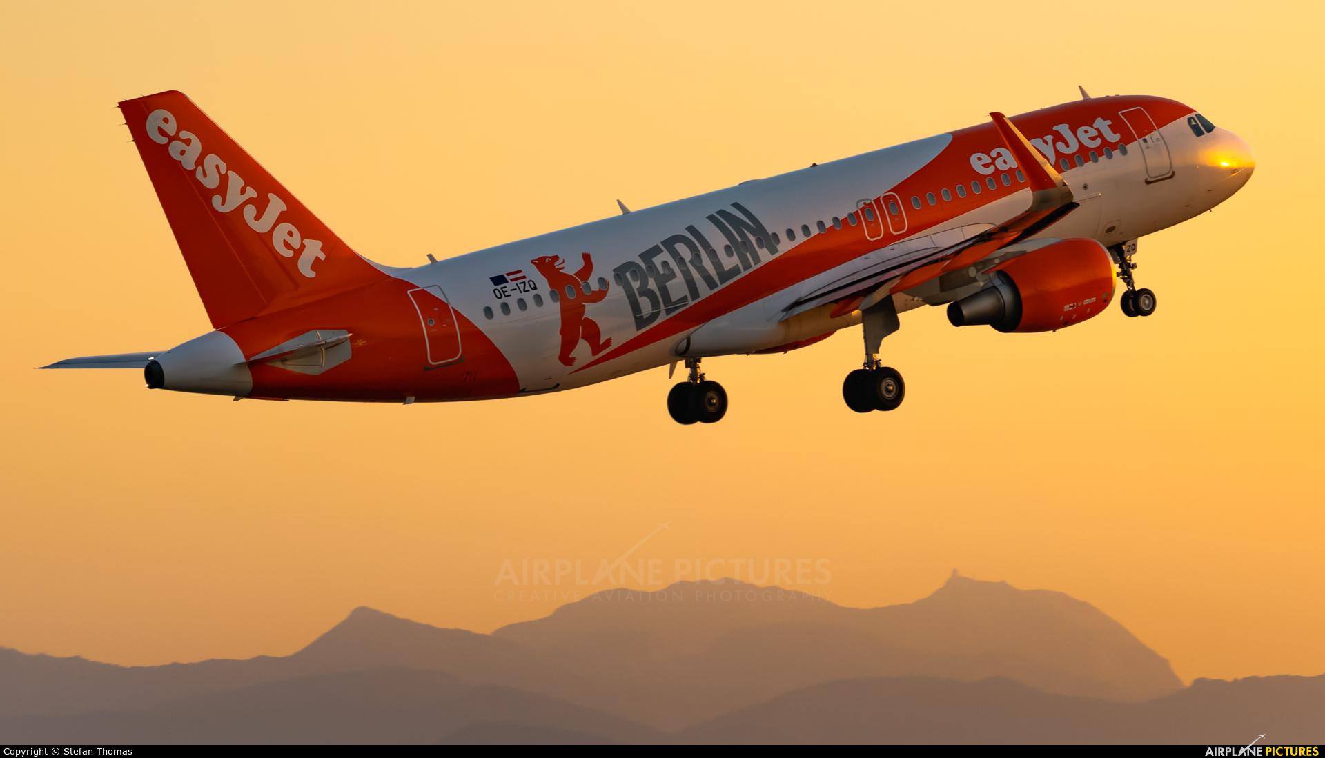 easyJet Europe OE-IZQ aircraft at Palma de Mallorca