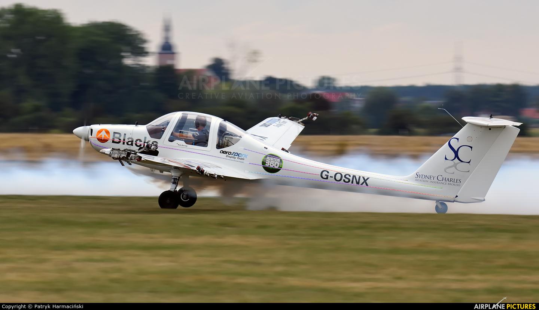 Aerosparx G-OSNX aircraft at Leszno - Strzyżewice