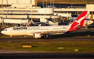 VH-EBJ - QANTAS Airbus A330-200 aircraft