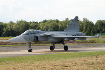 281 - Sweden - Air Force SAAB JAS 39C Gripen