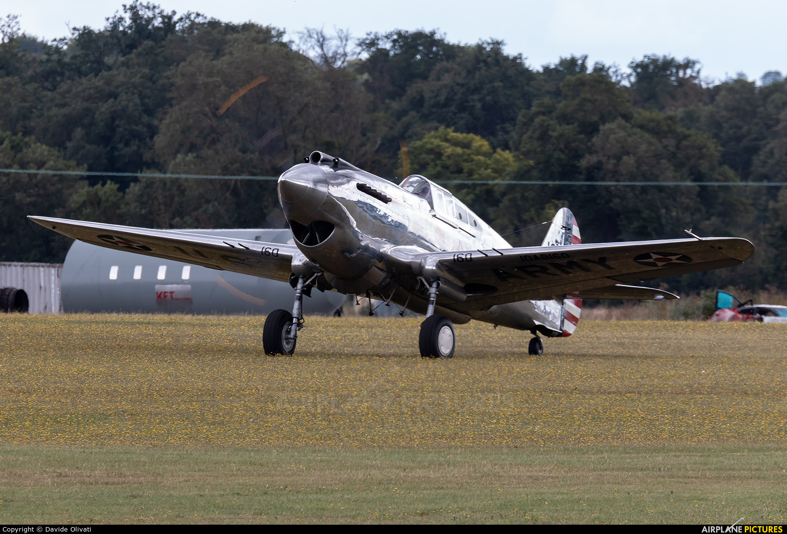 The Fighter Collection G-CIIO aircraft at Duxford