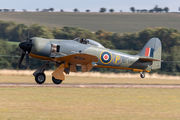 G-CBEL - Private Hawker Sea Fury aircraft