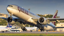 A7-BAV - Qatar Airways Boeing 777-300ER aircraft