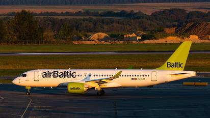 YL-AAR - Air Baltic Airbus A220-300