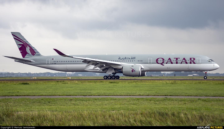 Qatar Airways A7-ANN aircraft at Amsterdam - Schiphol