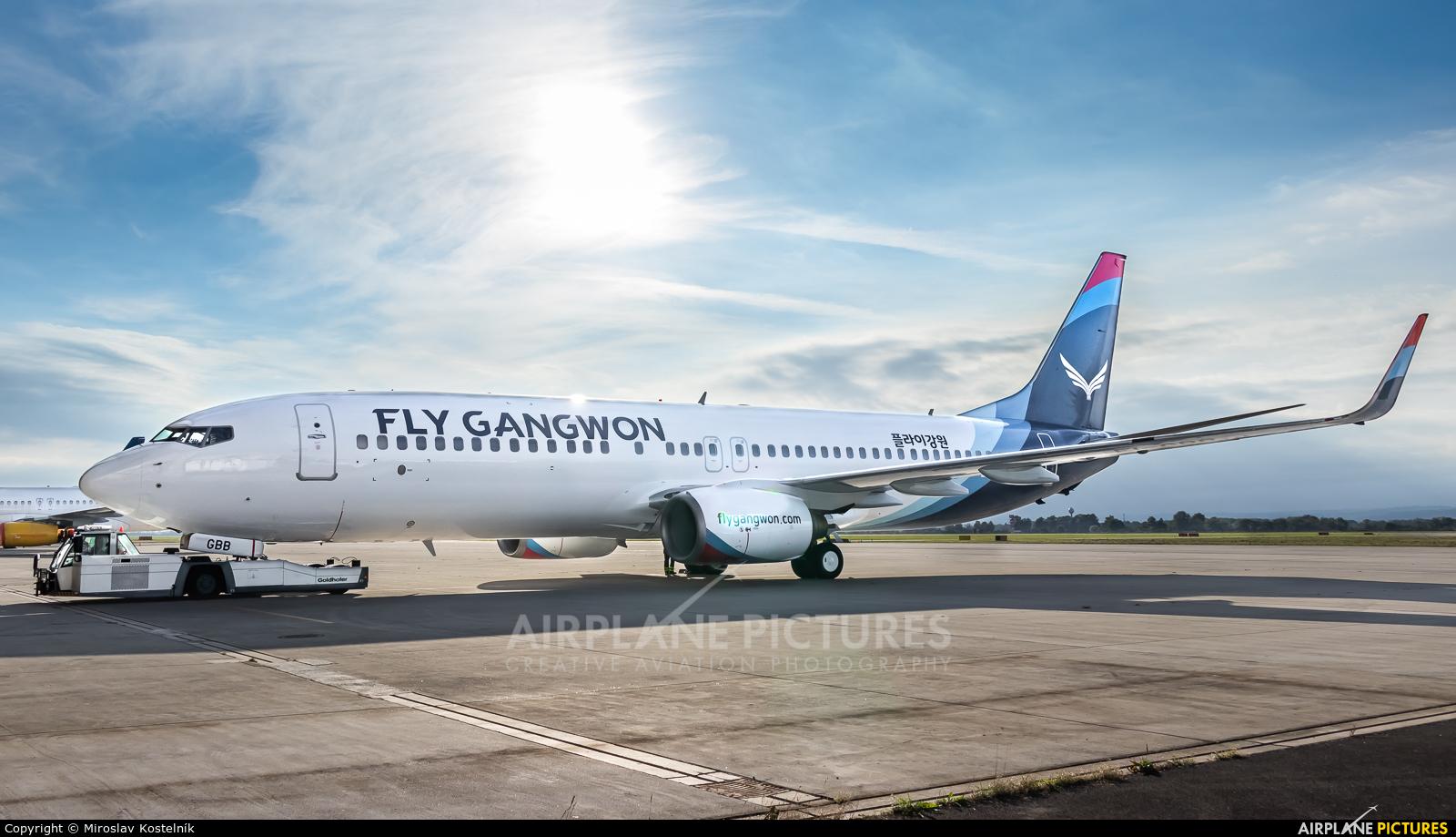 Fly Gangwon EI-GBB aircraft at Ostrava Mošnov