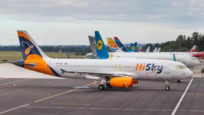 YR-SKY - HiSky Airbus A320