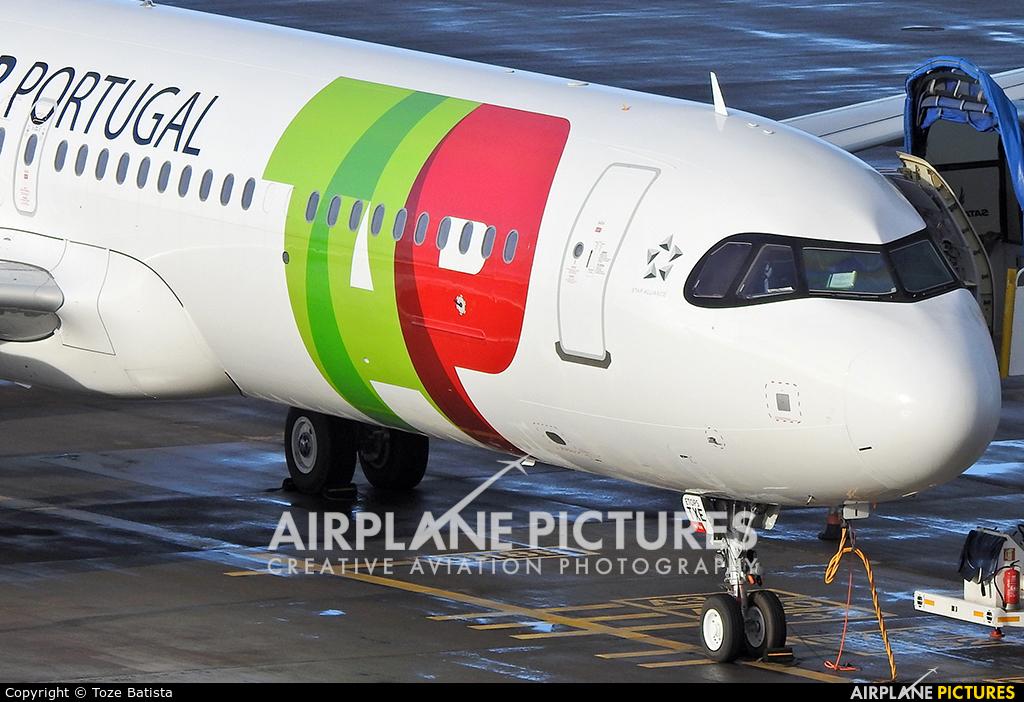 TAP Portugal CS-TXE aircraft at Azores - Ponta Delgada