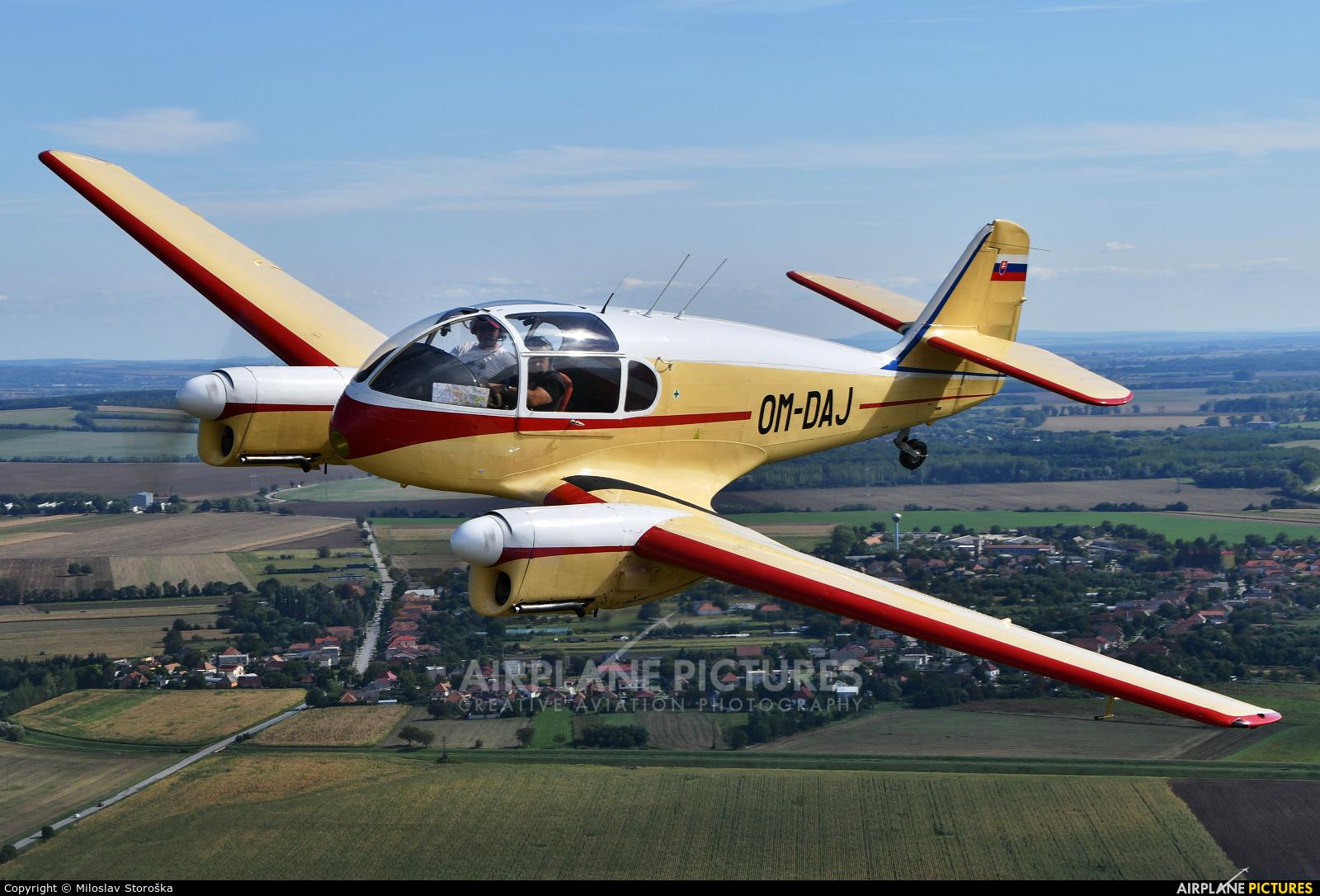 Private OM-DAJ aircraft at In Flight - Czech Republic