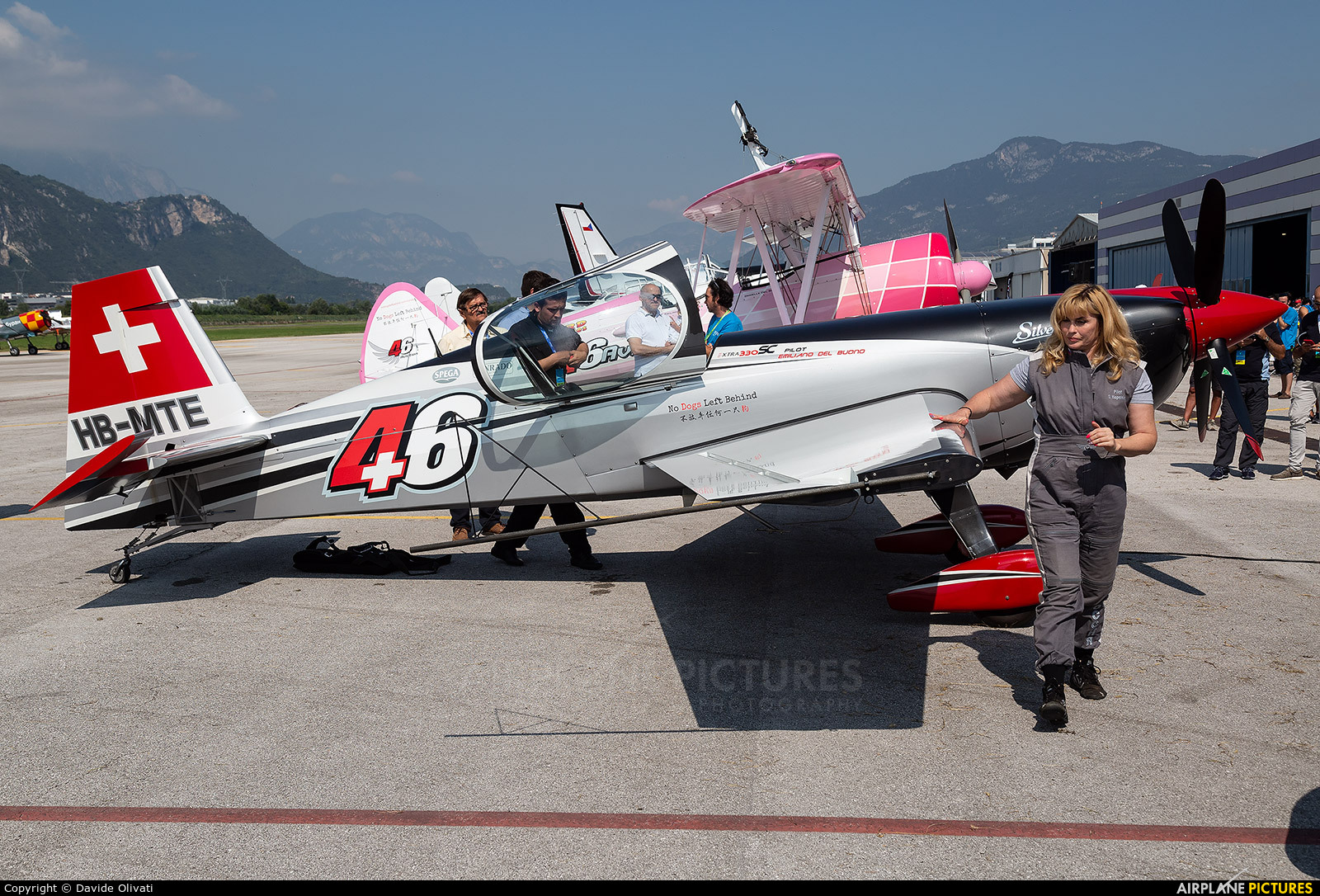 Private HB-MTE aircraft at Trento - Mattarello