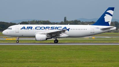 F-HBSA - Air Corsica Airbus A320