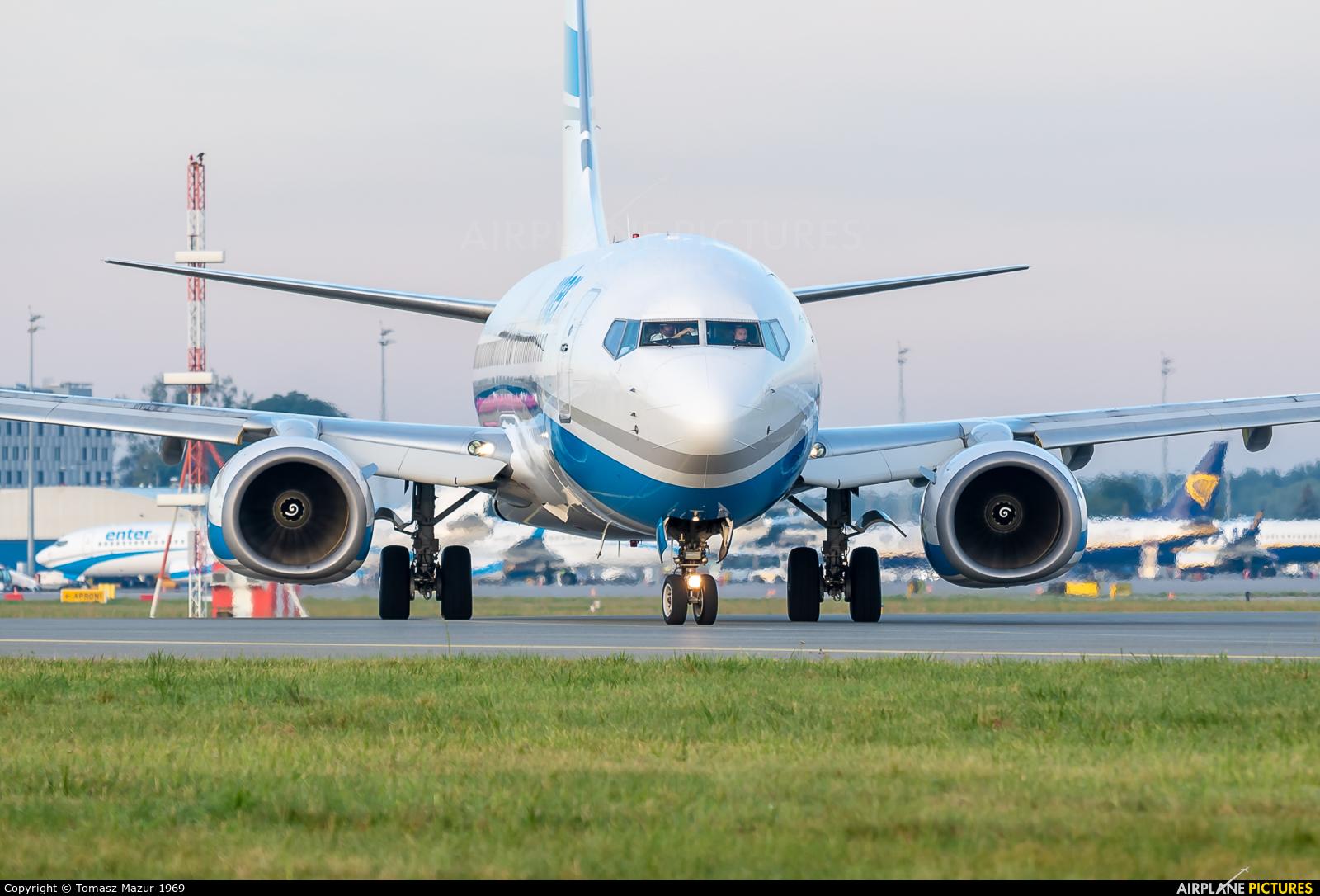 Enter Air SP-ENZ aircraft at Katowice - Pyrzowice