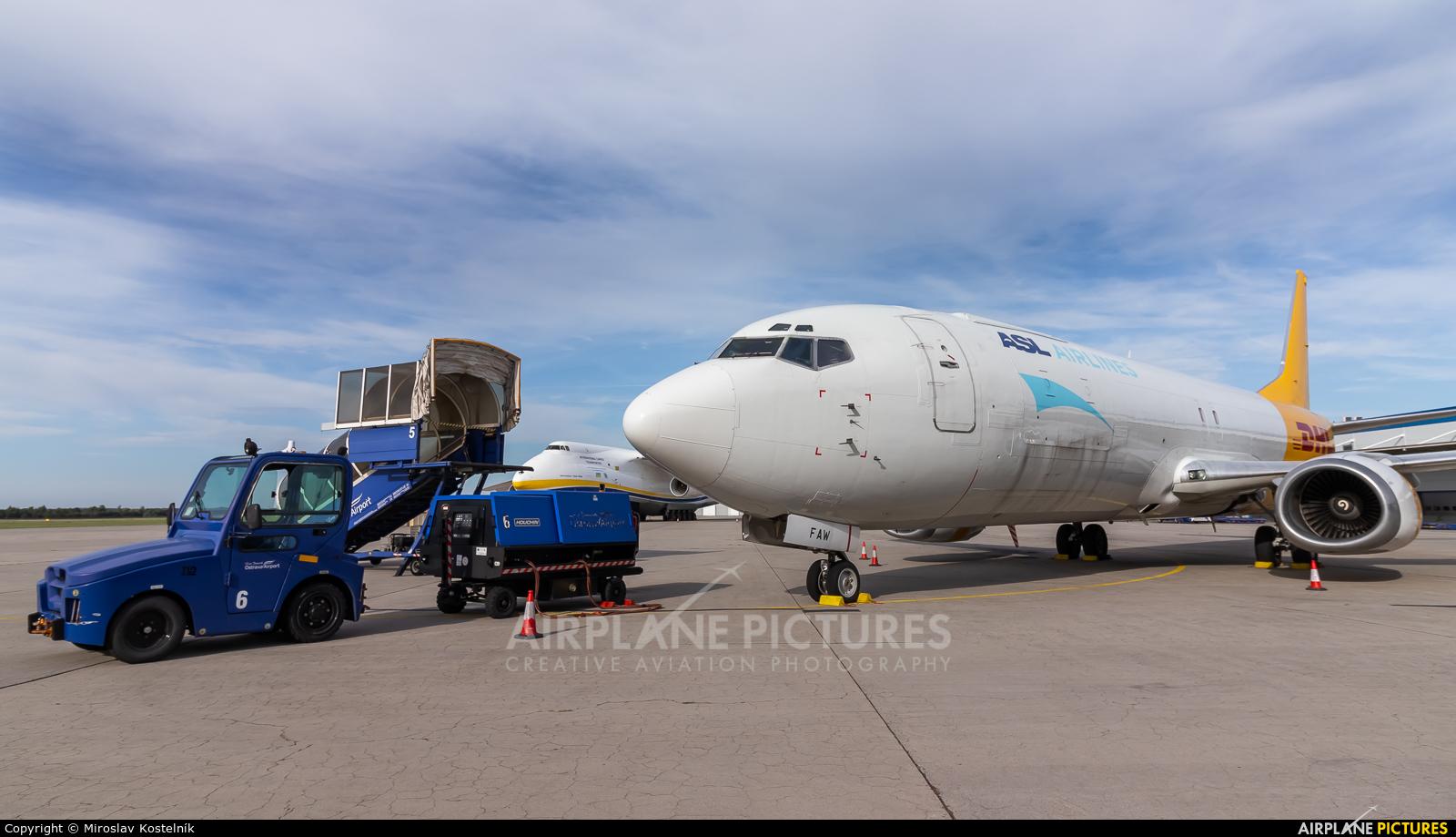 ASL Airlines Hungary HA-FAW aircraft at Ostrava Mošnov