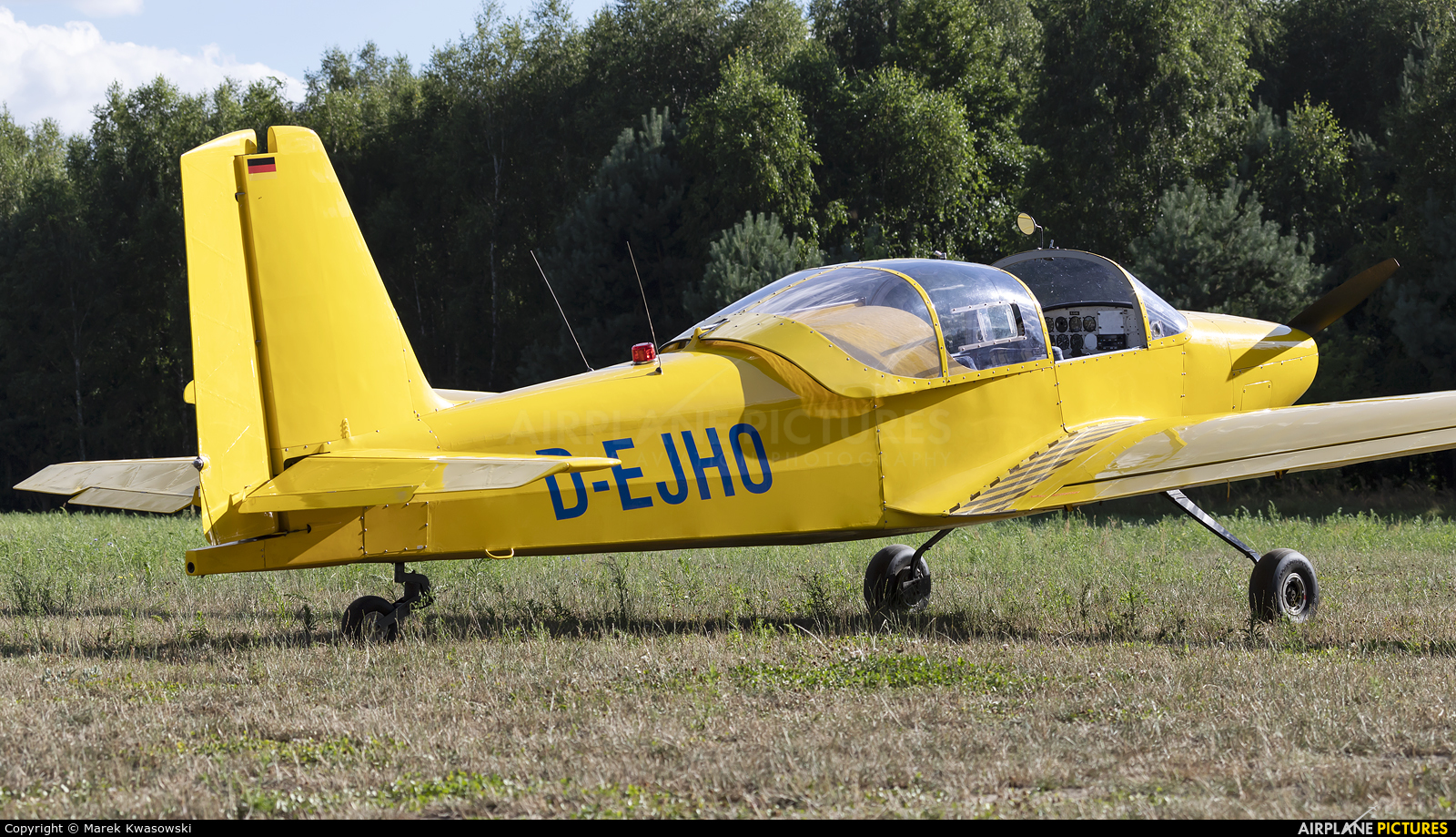 Private D-EJHO aircraft at Milewo