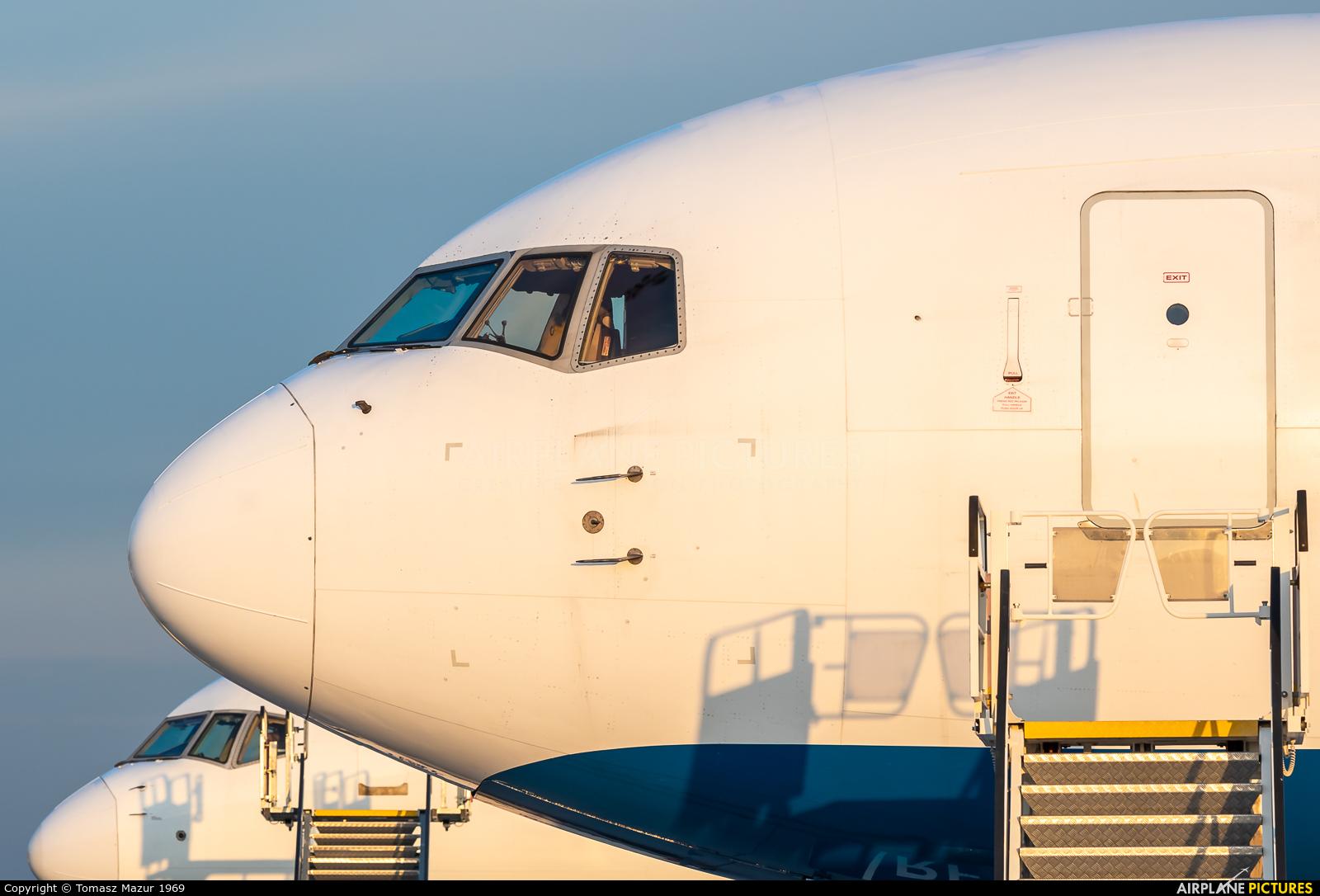 Star Air OY-SRF aircraft at Katowice - Pyrzowice