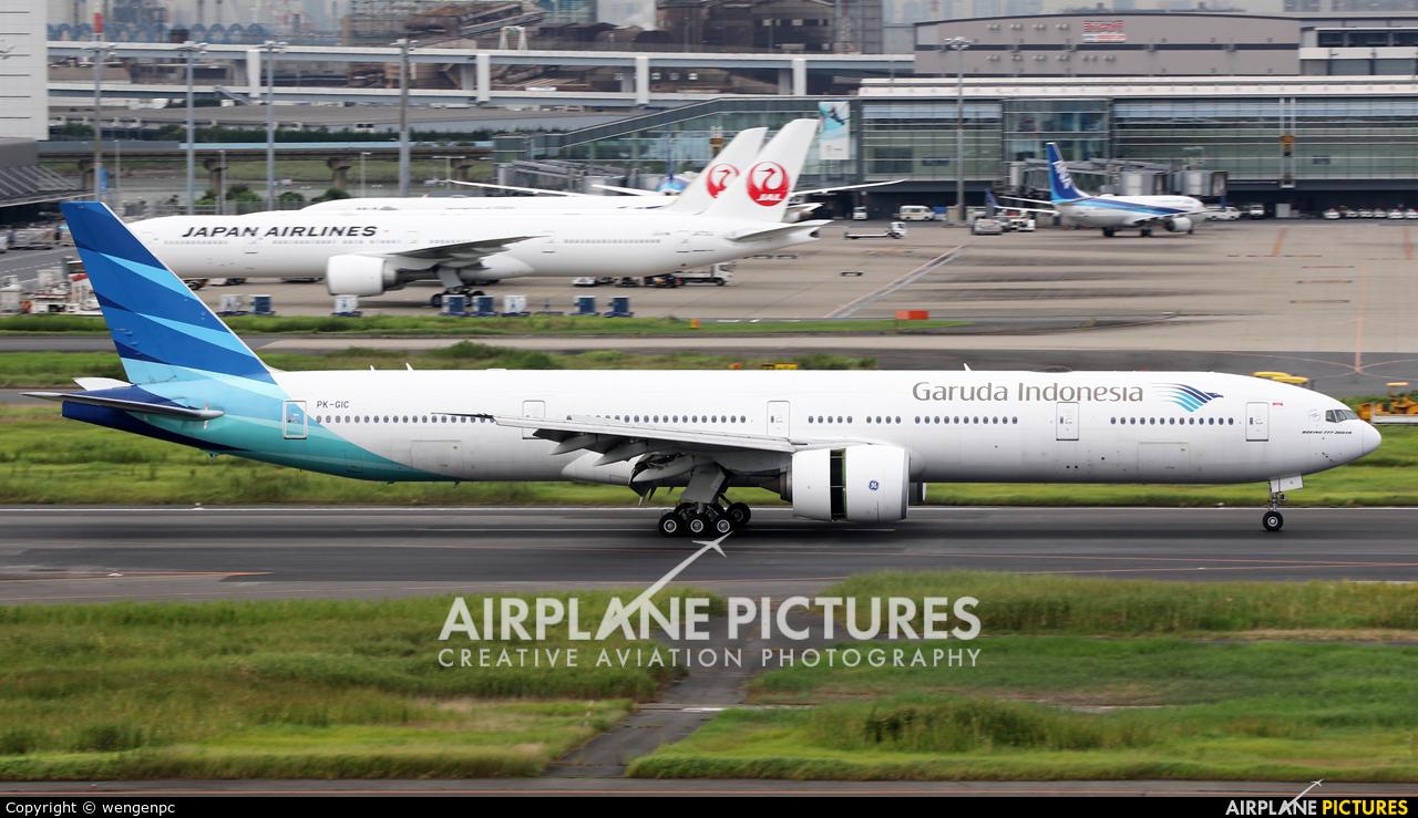 Garuda Indonesia PK-GIC aircraft at Tokyo - Haneda Intl