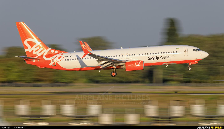 SkyUp Airlines UR-SQC aircraft at Kyiv - Borispol