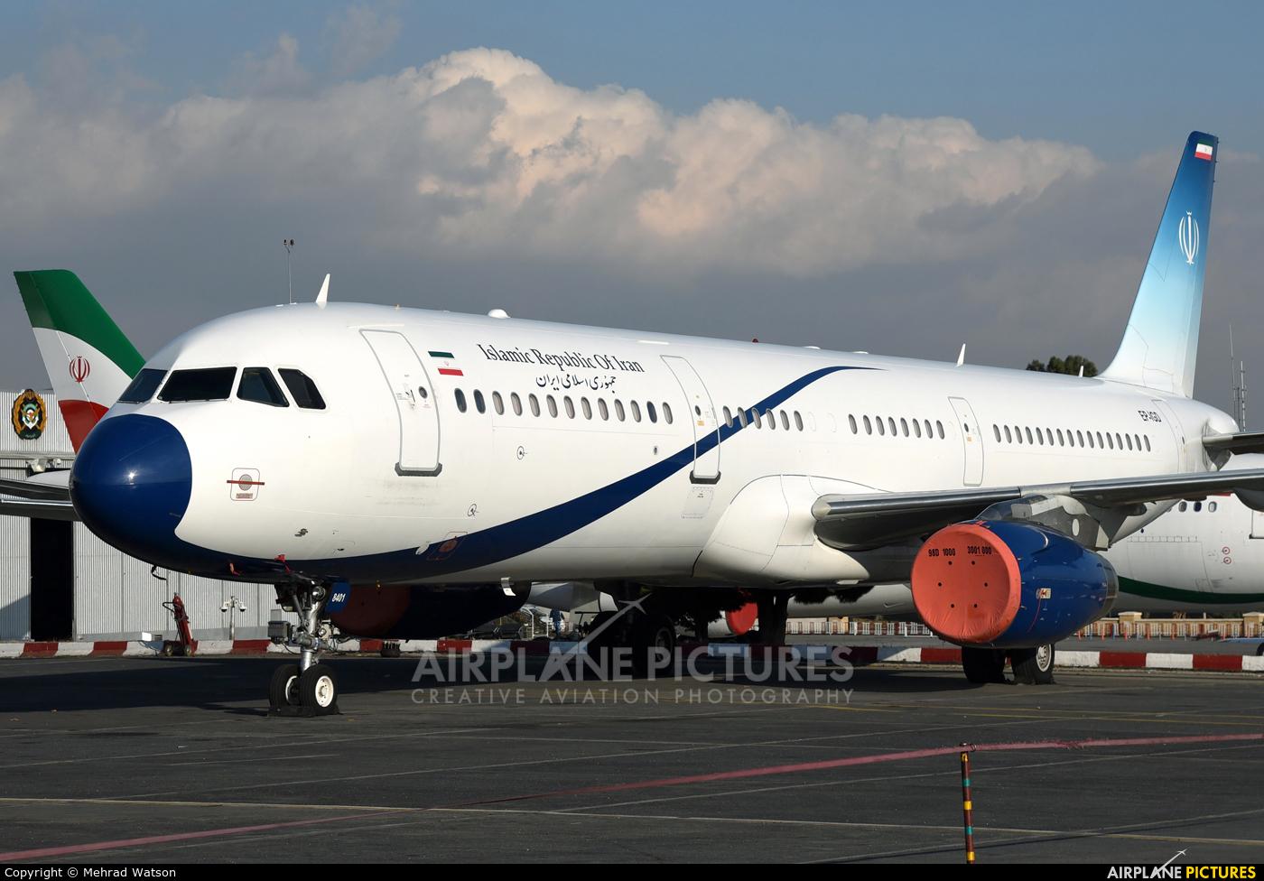 Iran - Government EP-IGD aircraft at Tehran - Mehrabad Intl