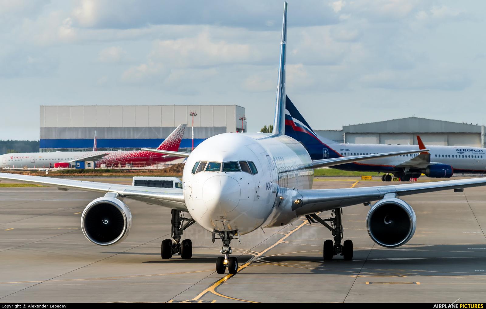 Ikar Airlines VP-BMC aircraft at Moscow - Sheremetyevo