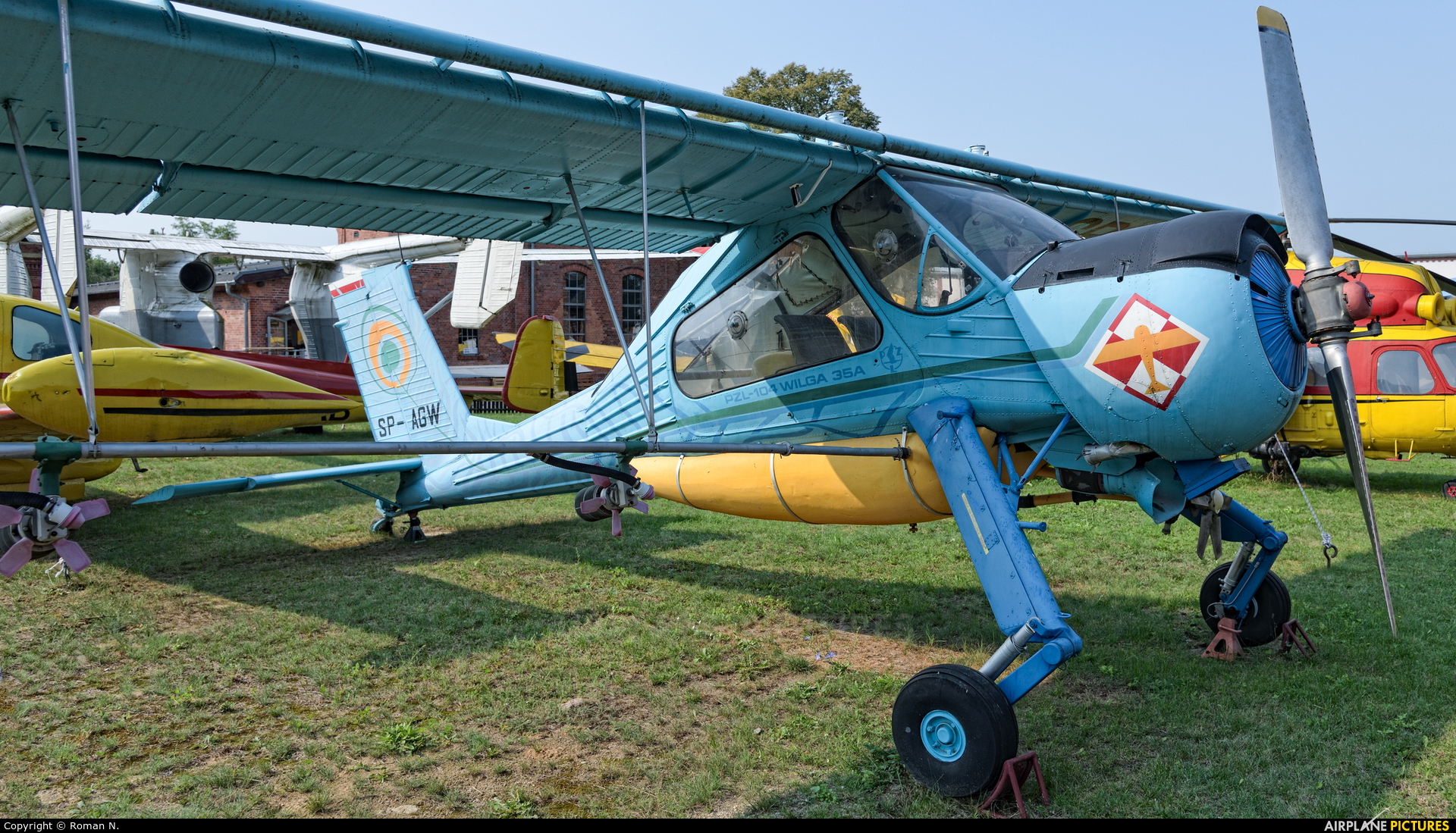 Private SP-AGW aircraft at Off Airport - Poland