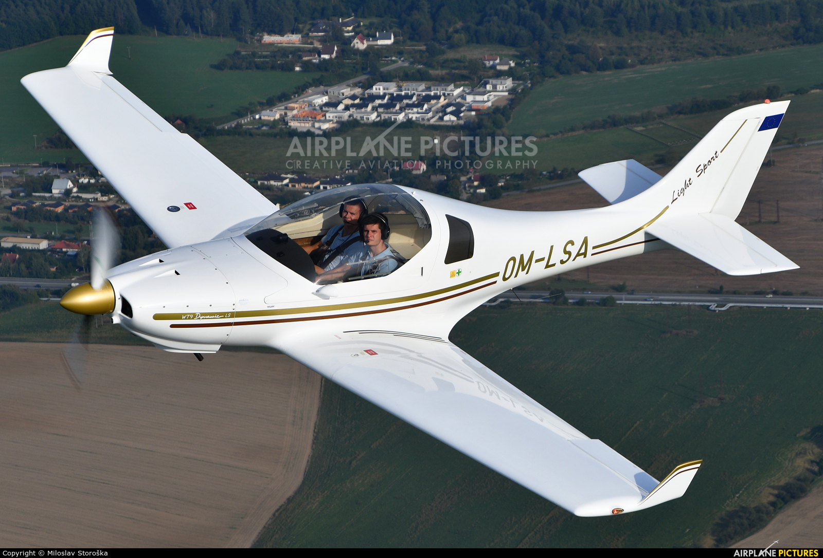 Aerospool OM-LSA aircraft at In Flight - Slovakia