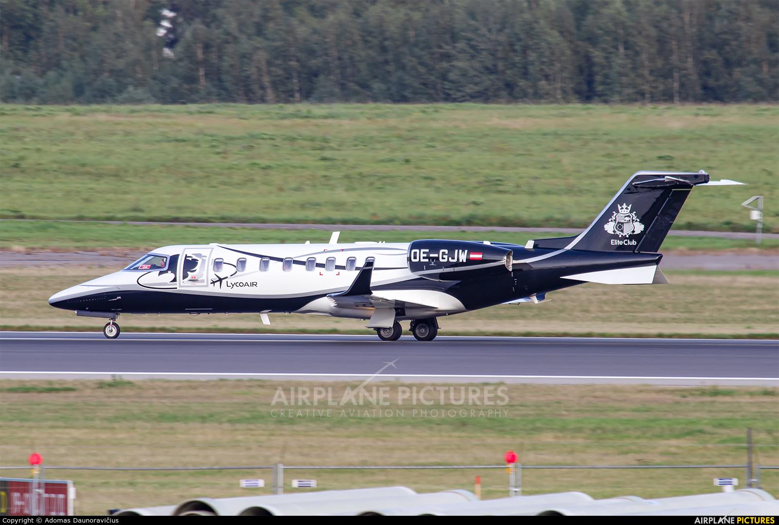 Avcon Jet OE-GJW aircraft at Vilnius Intl