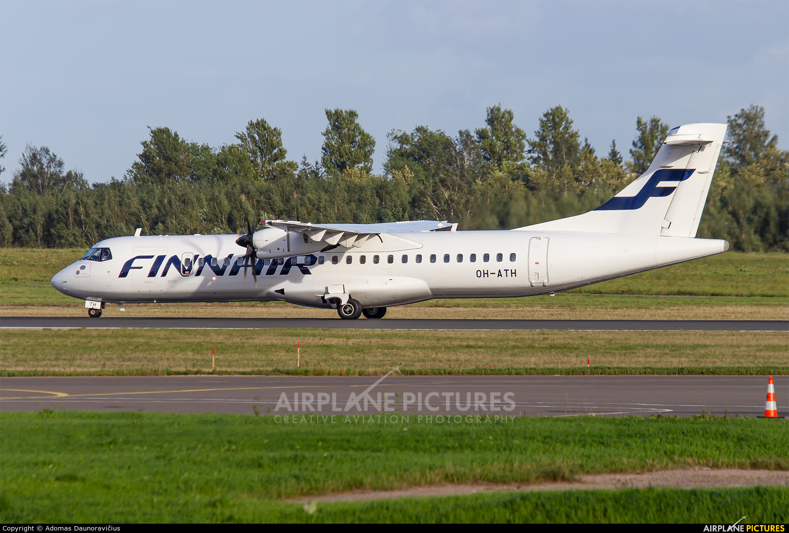 NoRRA - Nordic Regional Airlines OH-ATH aircraft at Vilnius Intl