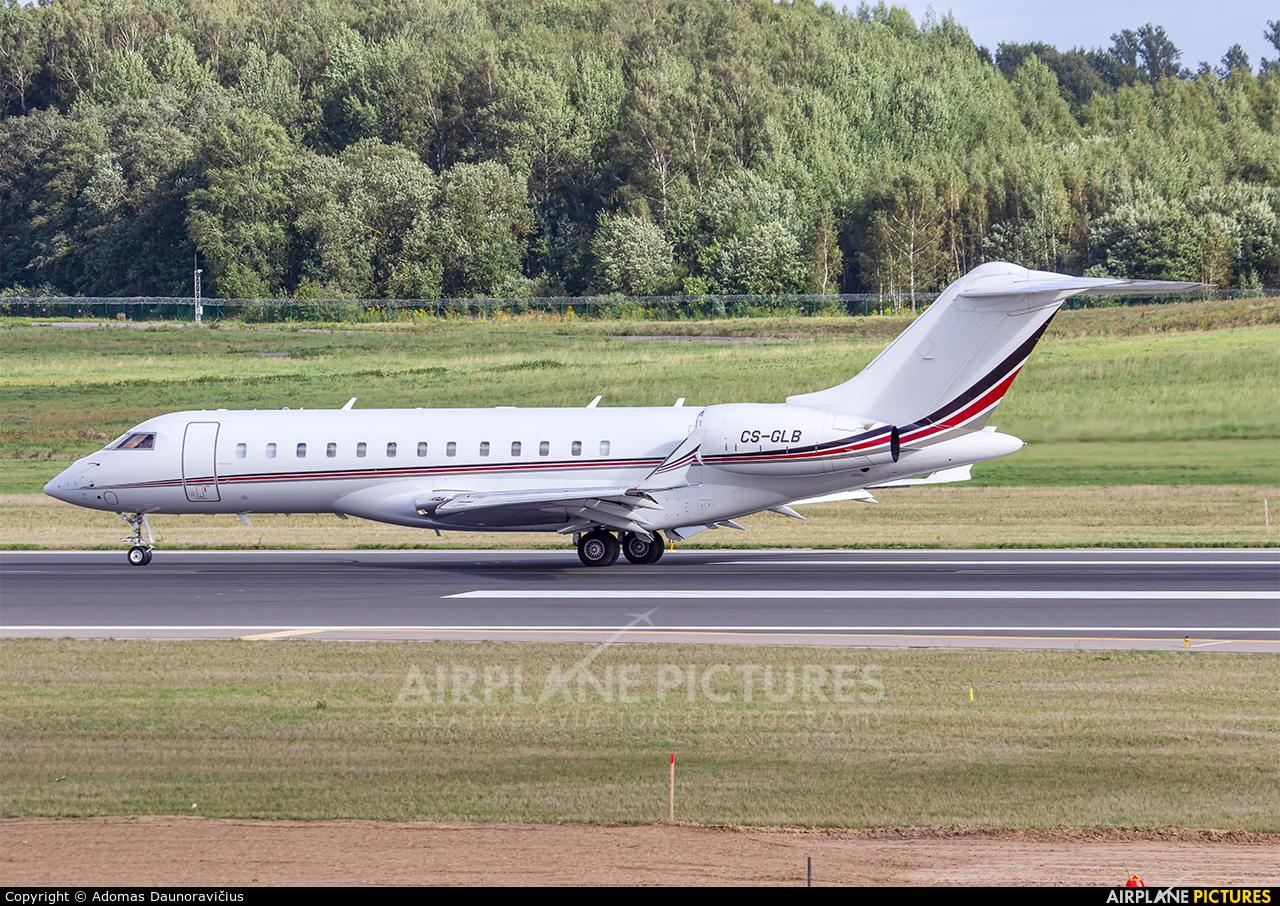 NetJets Europe (Portugal) CS-GLB aircraft at Vilnius Intl