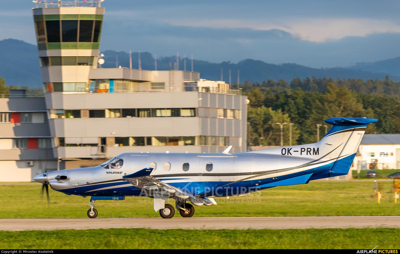 Private OK-PRM aircraft at Ostrava Mošnov