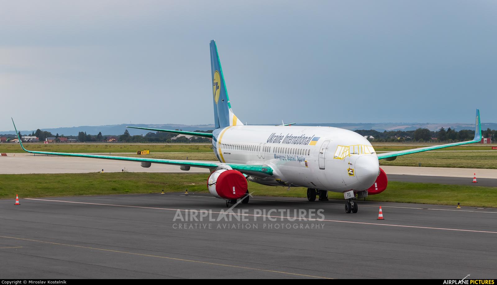 Ukraine International Airlines UR-PSS aircraft at Ostrava Mošnov