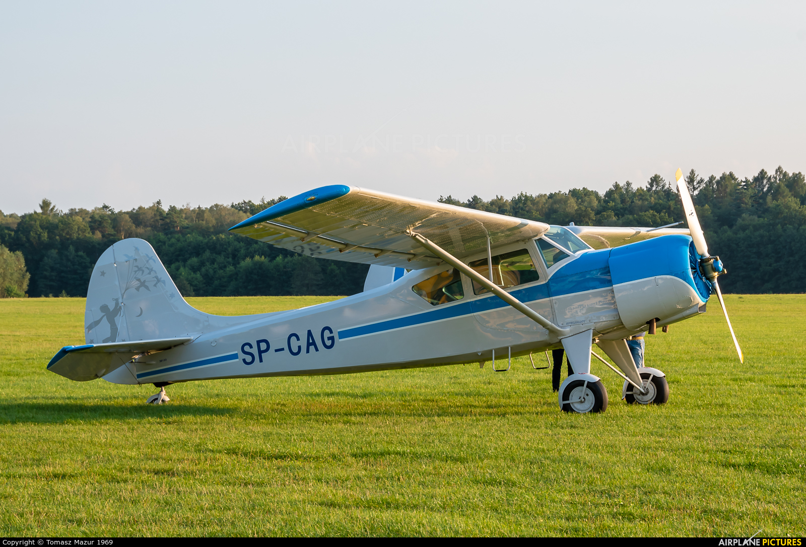 Private SP-CAG aircraft at Rybnik - Gotartowice