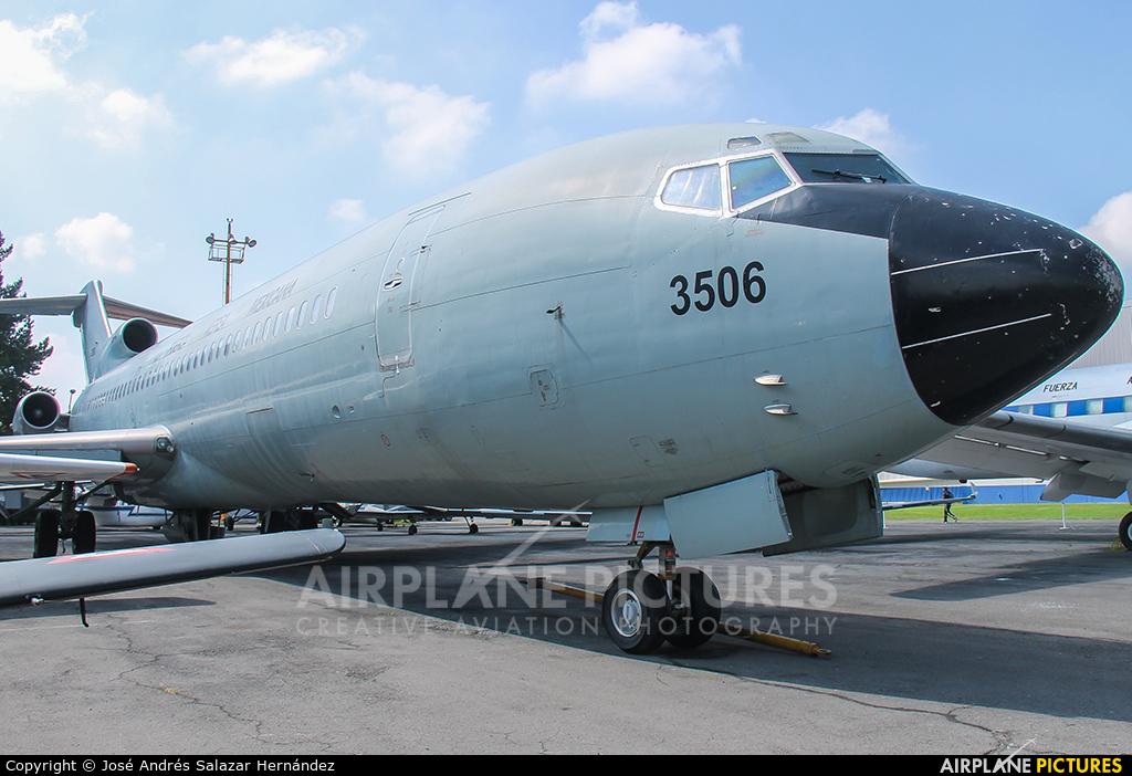 Mexico - Air Force 3506 aircraft at Santa Lucia AB