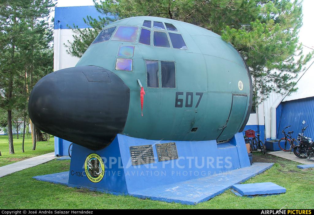 Mexico - Air Force 3607 aircraft at Santa Lucia AB