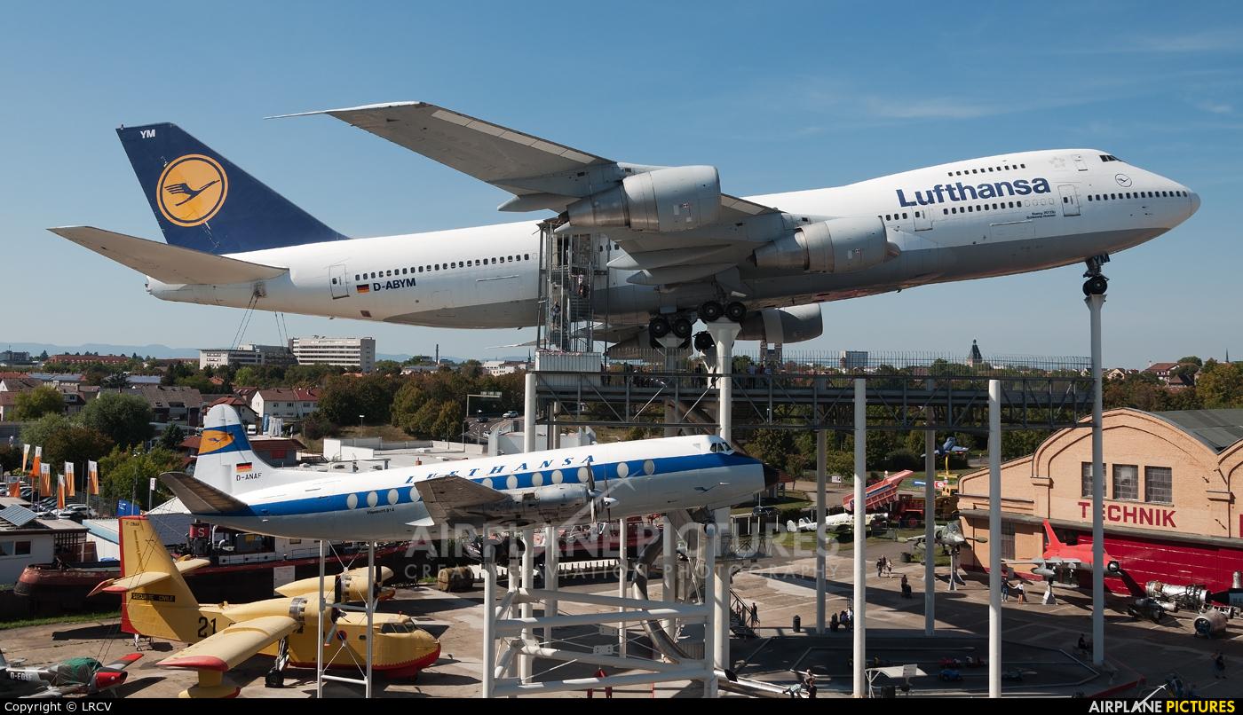 Lufthansa D-ABYM aircraft at Speyer, Technikmuseum