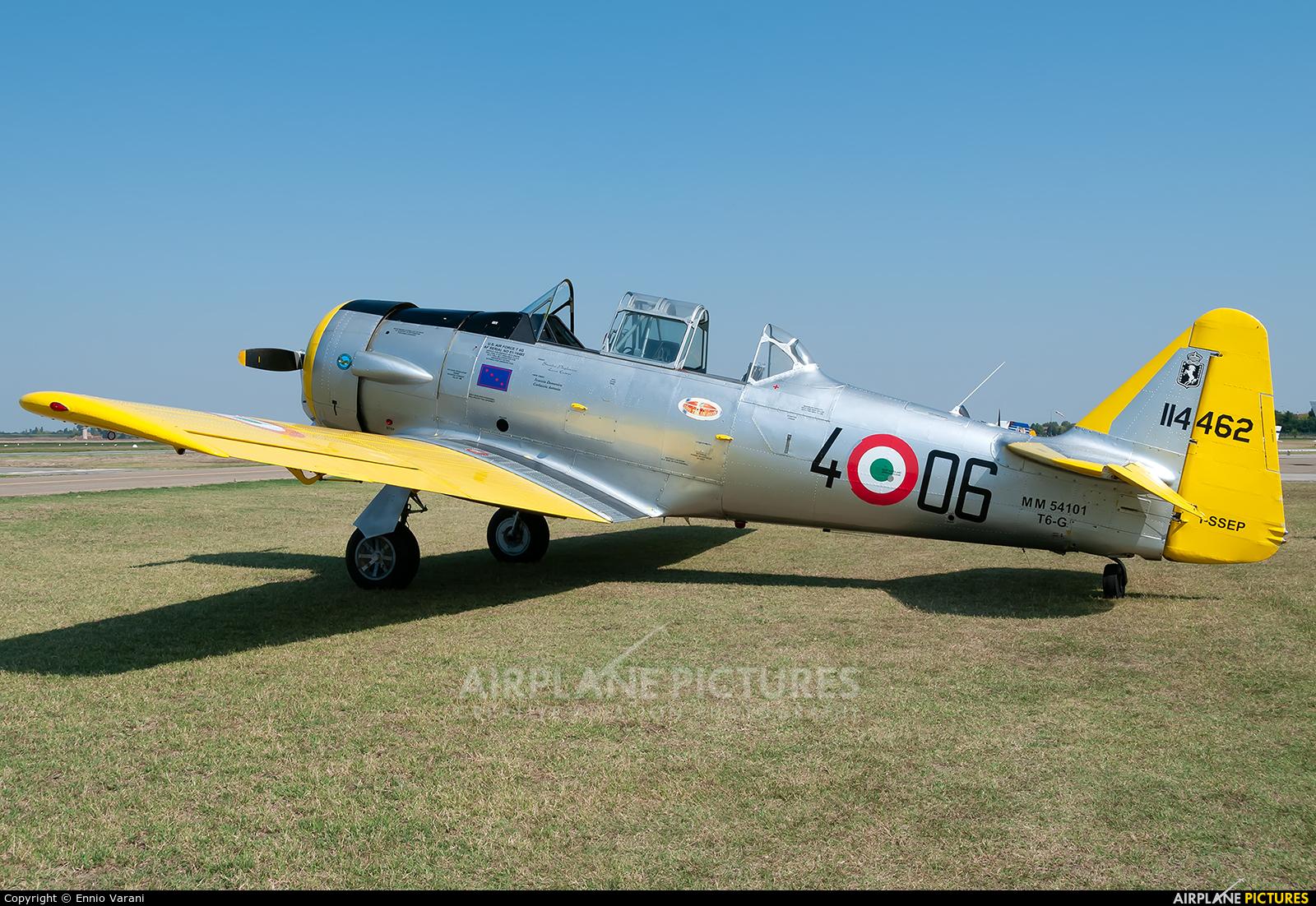 Private I-SSEP aircraft at Ozzano dell